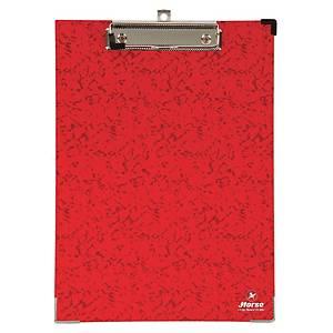 ตราม้า แฟ้มคลิปบอร์ด H-99 A4 สีแดง