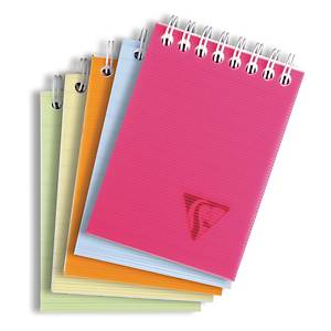 Anteckningsblock Clairefontaine Linicolor Fresh, A7, linjerat
