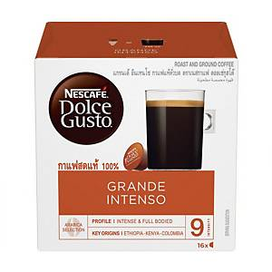 Nescafe Dolce Gusto Grande Intenso Capsule - Box of 16
