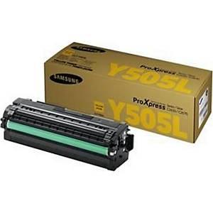 Samsung CLT-Y505L High Yield Yellow Toner Cartridge (SU512A)