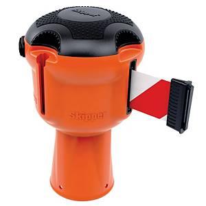 Skipper rajausnauha punainen/valkoinen oranssi kela
