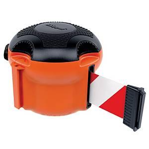 Skipper XS rajausnauha punainen/valkoinen oranssi kela