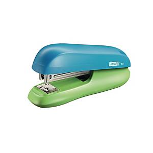 Rapid Funky Small Halfstrip Stapler Blue/Green - 20 Sheets Capacity