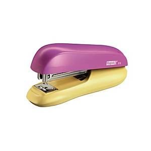 Rapid Funky Small Halfstrip Stapler Pink/Yellow - 20 Sheets Capacity