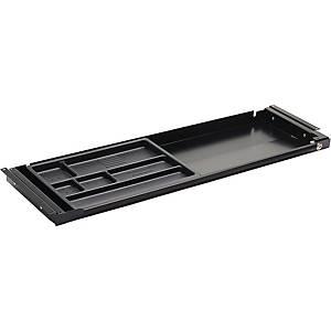 Skuffe til hæve-sænke-bord Fumac, 86,6 x 28,7 cm, sort