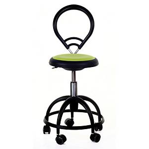 BALLET 320 CHAIR ROUND B/REST SMALL LIME