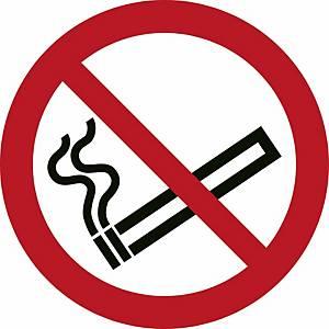 Signaux d'interdiction, interdiction de fumer, ᴓ 200 mm