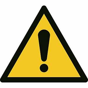 Signaux d'avertissement, danger général, ᴓ 200 mm