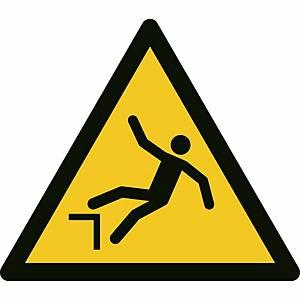 Signaux d'avertissement, danger, chute avec dénivellation, ᴓ 200 mm