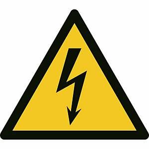 Signaux d'avertissement, danger, électricité, ᴓ 200 mm