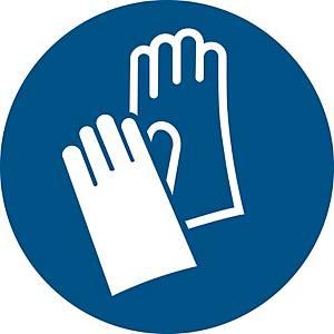 Signaux d'obligation, gants de protect. oblig.,  ᴓ 200 mm