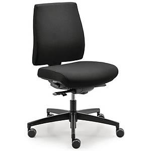 DAUPHIN SIM-O COMFORT OFFICE CHAIR BLACK