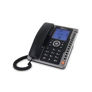 Teléfono analógico Telecom SPC3604N - negro