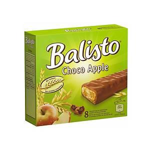 Barres Balisto Choco Apple, emballage de 8 pièces