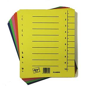 PK100 HIT OFFICE DIVIDER CLASSIC A4 MIX