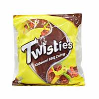 Twisties BBQ Curry Chips 15g - Pack of 8
