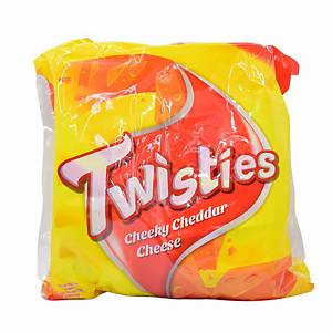 Twisties Original Cheese Chips 15g - Pack of 8