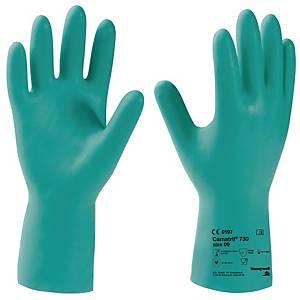 Chemikalienschutzhandschuhe KCL Camatril 730, Nitril, Größe 10, grün, 1 Paar