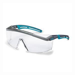 uvex astrospec vedőszemüveg, átlátszó