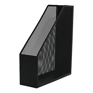 Q-CONNECT MAGAZINE FILE RACK METAL BLACK