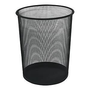 Kosz na śmieci siatkowy, metalowy