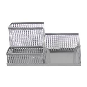 SAKOTA MESH DESK ORAGNIZER SILVER