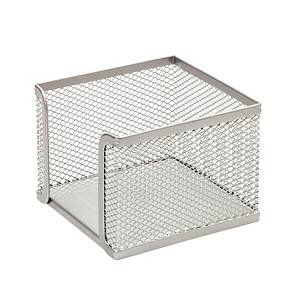 SAKOTA MESH BOX WITH NOTES SILVER