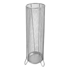SAKOTA MESH UMBRELLA HOLDER SILVER