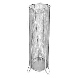 Drôtený stojan na dáždniky SaKOTA, strieborný