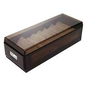 KW-TRIO 木紋名片盒 (800張)