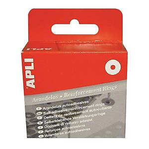 apli Reinforcement Rings Transparent - Box of 500