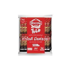 MOCCONA TRIO กาแฟ 3IN1 ริชแอนด์สมูธ 18 กรัม 100 ซอง