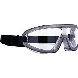 Vollsichtbrille Infield 9005 155 Aviator, Polycarbonat, klar