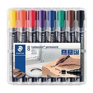 Staedtler 352 huopakynä pyöreä 2mm permanent värilajitelma, 1 kpl=8 kynää