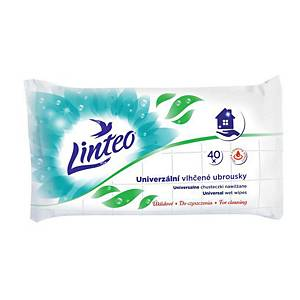 BX40 LINTEO ANTIBACTERIAL WET WIPES