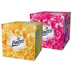 Linteo Elite Cube kozmetikai kendő, fehér, 60 darab
