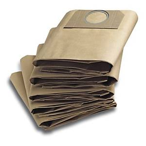 Kärcher Ersatz-Papierfilterbeutel, 5 Stück