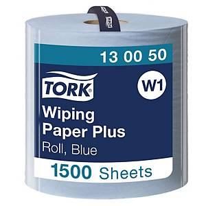 Starke Papierwischtücher Tork 130050, 2-lagig, blau