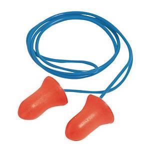 Gehörschutzstöpsel Howard Leight MAX, 37dB, mit Kordel, rot, 100 Paar