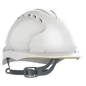 Casque de sécurité JSP EVO3 - ventilé - serrage glissière - blanc