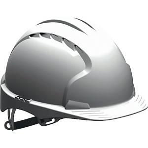 Schutzhelm JSP EVO3 AJE160, aus HDPE, Gleitverschluss unbelüftet, weiß