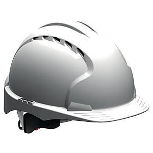 Hełm JSP Evo3 Comfort Plus, pokrętło Revolution®, biały, 1 sztuka