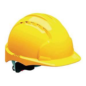 Hełm JSP Evo3 Comfort Plus, pokrętło Revolution®, żółty, 1 sztuka