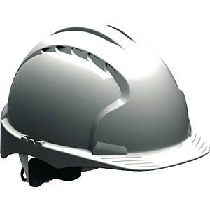 Schutzhelm JSP EVO3 AJE170, aus HDPE, Drehverschluss, unbelüftet, weiß