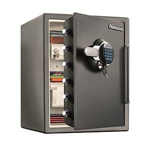 SentrySafe Water & Fire Protection Electric Key Lock Safe STW205GYC