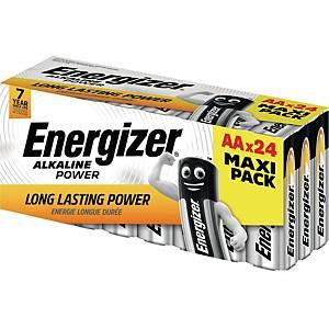 Batterie Energizer E300456400, Mignon, LR06/AA, 1,5 Volt, VALUE, 24 Stück