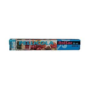 Pellicola in plastica Rolsac in pratico dispenser 25 m