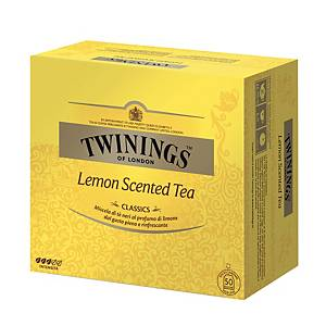 Tè Lemon Scented Twinings in bustina - conf.50