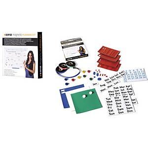 Kit de planificação magnético Bi-office - 305 x 215 mm