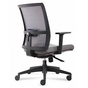 Cadeira com mecanismo sincronizado Ark - preto